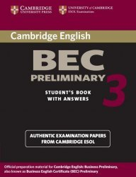 Cambridge BEC Preliminary 3 - Student's Book with Answers