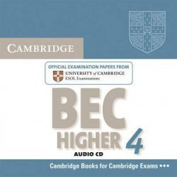 Cambridge BEC 4 Higher - Audio CD Examination Papers from University of Cambridge ESOL Examinations