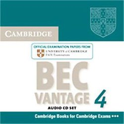 Cambridge BEC 4 Vantage - Audio CDs (2) Examination Papers from University of Cambridge ESOL Examinations