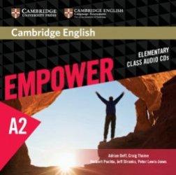 Cambridge English Empower, Elementary - Class Audio CDs (3)