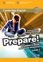 Cambridge English Prepare! Level 1 - Student's Book and Online Workbook