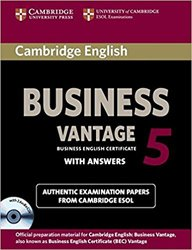 Cambridge English Business 5 Vantage - Self-study Pack (Student's Book with Answers and Audio CDs (2))