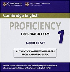 Cambridge English Proficiency 1 for Updated Exam - Audio CDs (2) Authentic Examination Papers from Cambridge ESOL