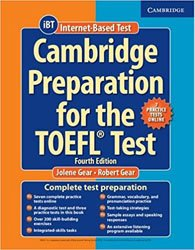 Cambridge Preparation for the TOEFL Test - Book with Online Practice Tests and Audio CDs (8) Pack