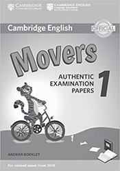 Cambridge English Movers 1 for Revised Exam from 2018 - Answer Booklet Authentic Examination Papers