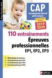CAP accompagnant éducatif petite enfance : 50 sujets d'entraînement EP1, EP2, EP3