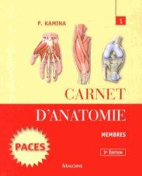 Carnet d'anatomie 1