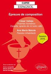 Capes espagnol, épreuve de composition