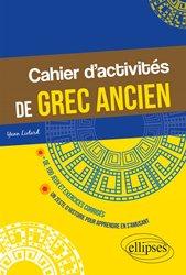 Cahier d'activités de grec ancien