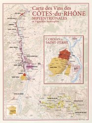 Carte des Vins des Côtes-du-Rhône Septentrionales