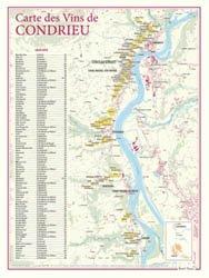 Carte des Vins de Condrieu