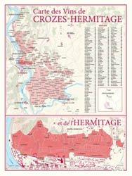 Carte des Vins de Crozes-Hermitage