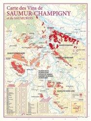 Carte des Vins de Saumur-Champigny et du Saumurois
