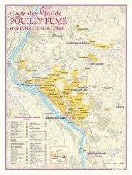 Carte des Vins de Pouilly-Fumé