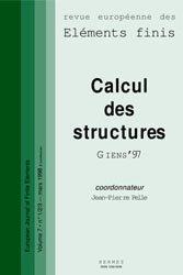 Calcul des structures Giens'97