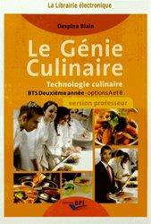 CD le genie culinaire - BTS 2ème année prof