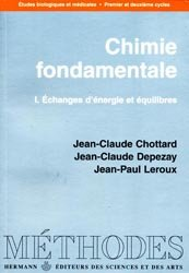 Chimie fondamentale Tome 1