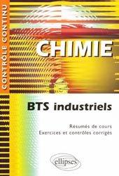 Chimie BTS Industriels