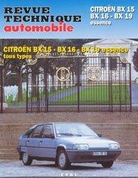 Citroën BX15 BX16 BX19 essence