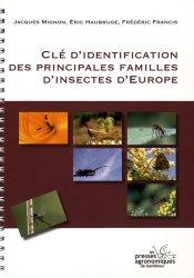 Clé d'identification des principales familles d'insectes d'Europe