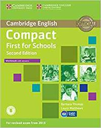 Compact First for Schools - Workbook with Answers with Audio