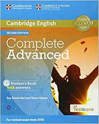Complete Advanced - Student's Book with Answers with CD-ROM with Testbank