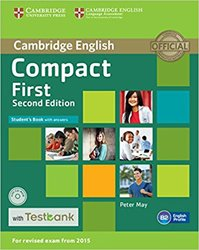 Compact First - Student's Book with Answers with CD-ROM with Testbank