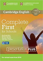 Complete First for Schools - Presentation Plus DVD-ROM