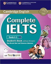 Complete IELTS Bands 4–5 - Student's Book without Answers with CD-ROM with Testbank