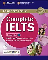 Complete IELTS Bands 5–6.5 - Student's Book without Answers with CD-ROM with Testbank