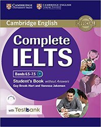 Complete IELTS Bands 6.5–7.5 - Student's Book without Answers with CD-ROM with Testbank