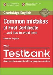 Common Mistakes at First Certificate… and How to Avoid Them - Paperback with Testbank