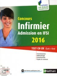 Concours infirmier - Admission en IFSI 2016