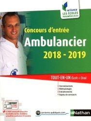 Concours d'entrée Ambulancier