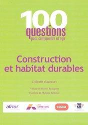 Construction et habitat durables