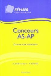 Concours AS AP Épreuve orale d'admission