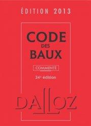 Code des baux 2013