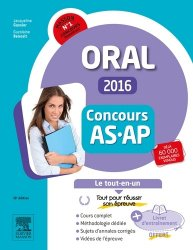 Concours AS / AP 2015 - Épreuve orale