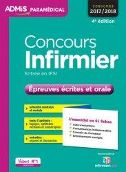 Concours Infirmier - Épreuves écrites et orale