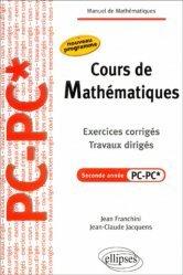 Cours de mathématiques Seconde année PC - PC*