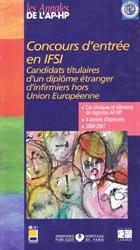 Concours d'entrée en IFSI
