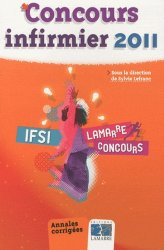 Concours infirmier 2011