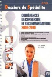 Conférences de consensus et recommandations 2009 - 2010