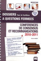 Conférences de consensus et recommandations 2010 - 2011
