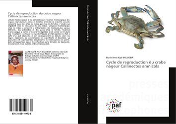 Cycle de reproduction du crabe nageur Callinectes amnicola