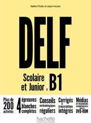 DELF B1 SCOLAIRE JUNIOR + DVD