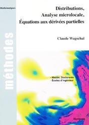 Distributions, Analyse microlocale, Équations aux dérivées partielles