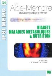 Diabète - Maladies métaboliques & Nutrition