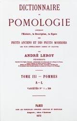 Dictionnaire de pomologie Tome 3