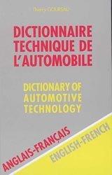 Dictionnaire Technique de l'Automobile
